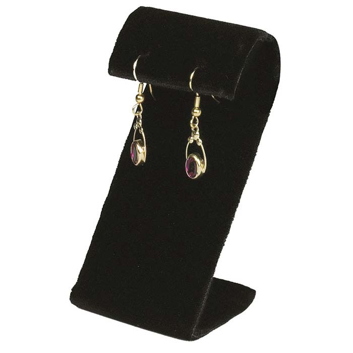 Black Velvet Earring Display