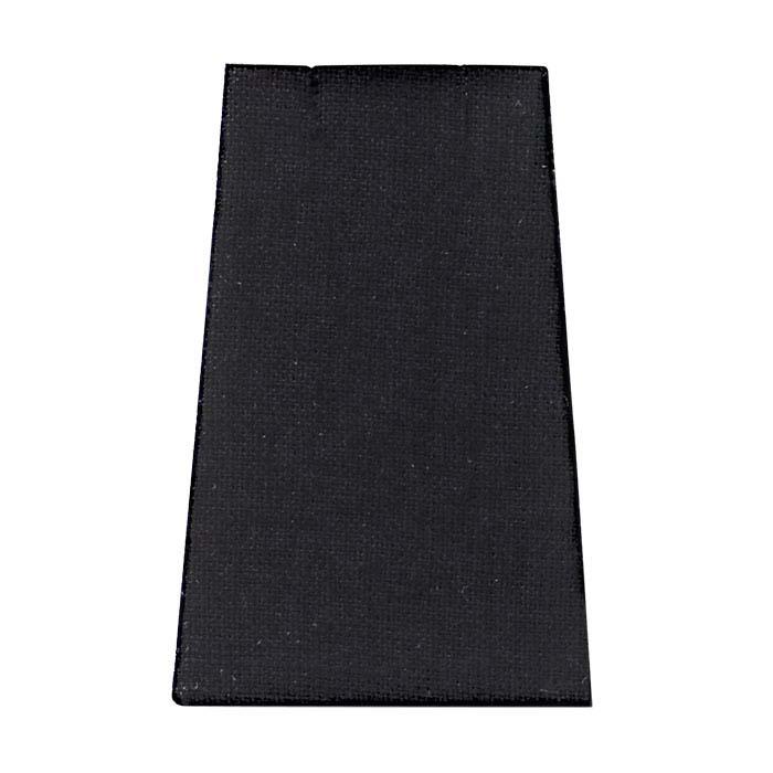 Black Linen Tapered Pendant or Earring Display