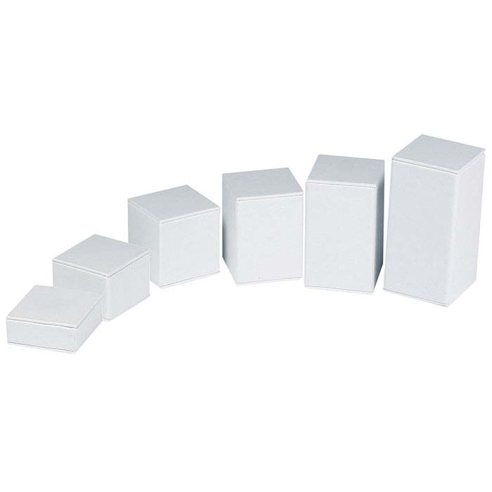 Faux Leather Square Block Riser Display Sets