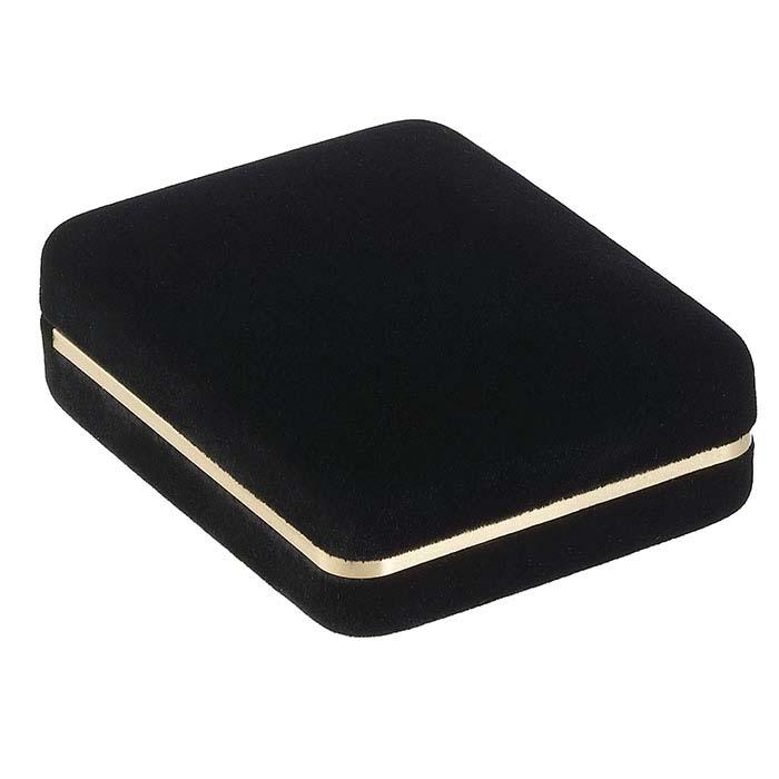 Black Soiree Velvet Large Pendant Gift Box