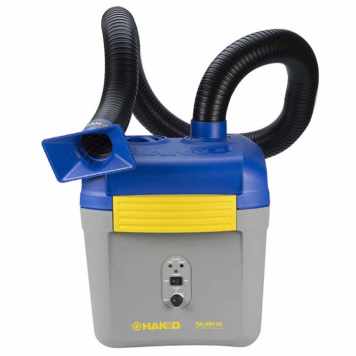 HAKKO Fume Extraction System with Duct Kit