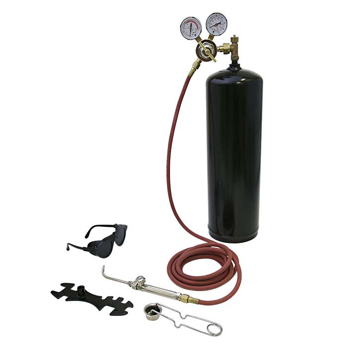 Smith® Silver Smith™ Acetylene and Air Torch Kit with Tank