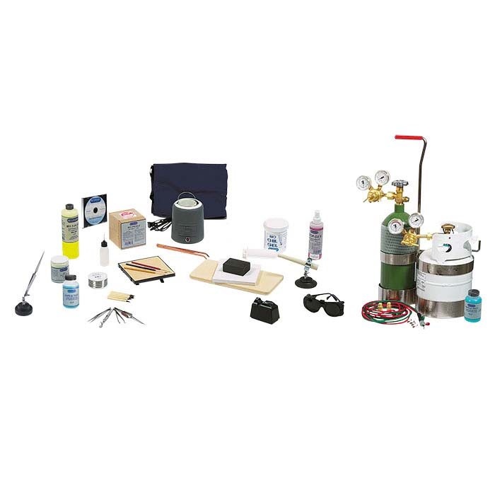 Propane and Oxygen Advanced Soldering Kit