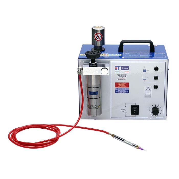 Single-Torch Hydrogen Welding System