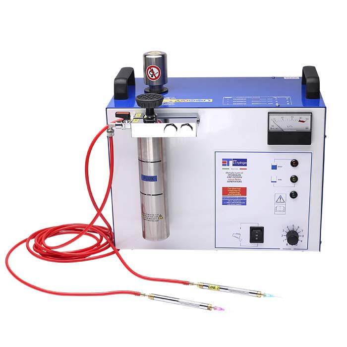 Dual Torch Hydrogen Welding System