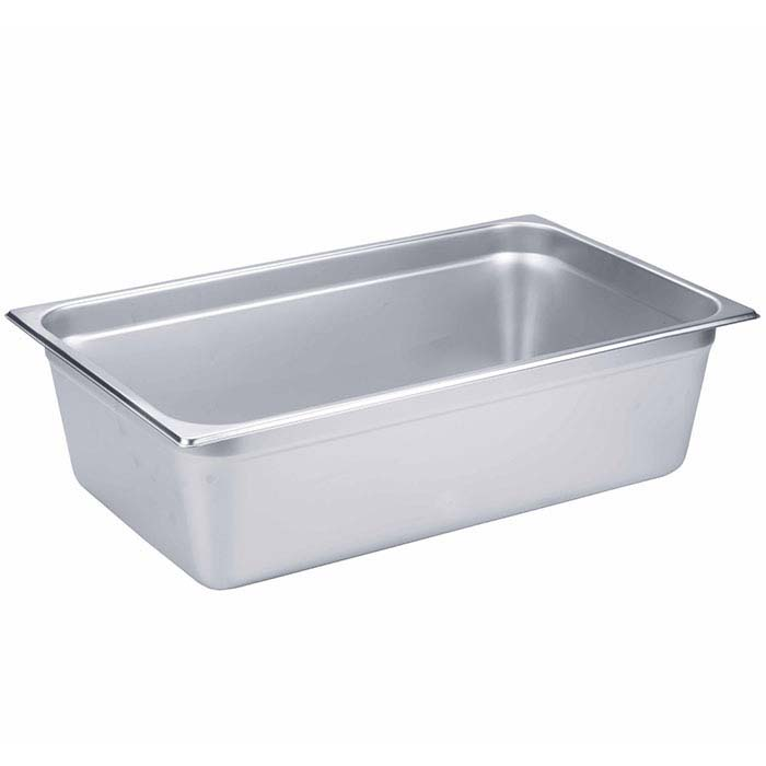 "Stainless Steel 6"" Pickle Pan for Large Pickle Warmer"