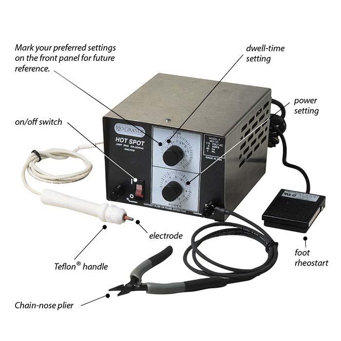 Hot Spot® Jump Ring Soldering Machine Kit