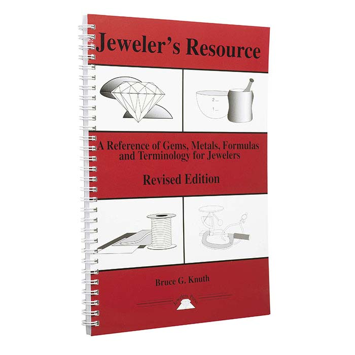 Jeweler's Resource: A Reference of Gems, Metals, Formulas and Terminology for Jewelers, Book