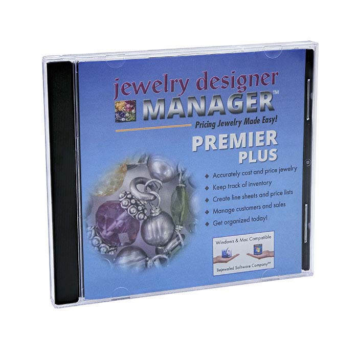 Jewelry Designer MANAGER PREMIER Plus, Software Program