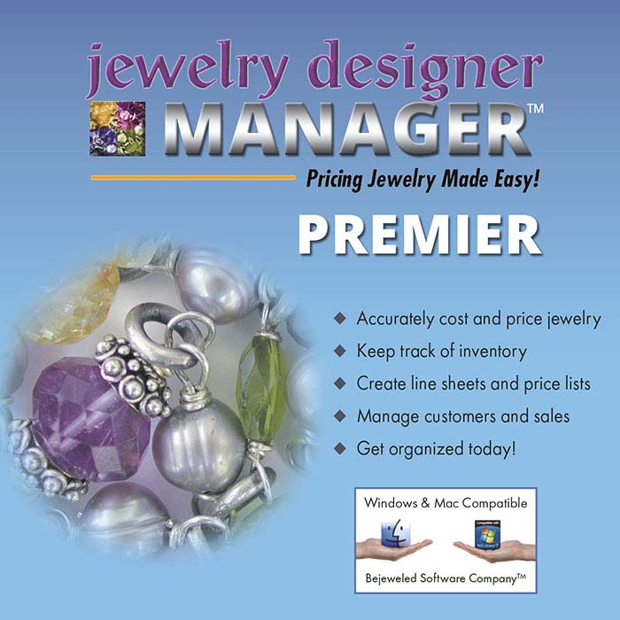 Jewelry Designer MANAGER PREMIER, Software Program