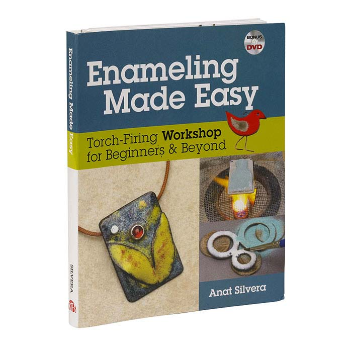 Enameling Made Easy: Torch-Firing Workshop for Beginners and Beyond, Book and DVD