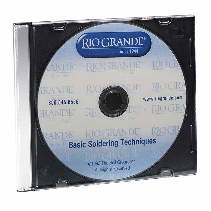 Basic Jewelry Soldering Techniques, DVD