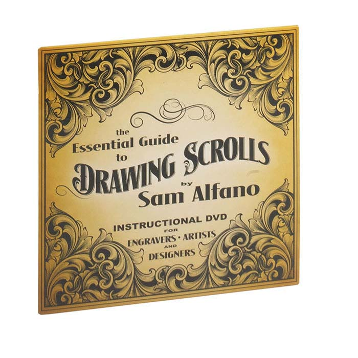 The Essential Guide to Drawing Scrolls, DVD
