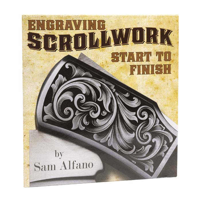 Engraving Scrollwork: Start to Finish with Sam Alfano, DVD