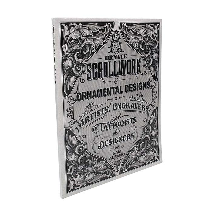 Ornate Scrollwork & Ornamental Designs by Sam Alfano, Book