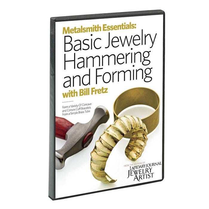 Metalsmith Essentials: Basic Jewelry Hammering and Forming, Vol.1, with Bill Fretz, DVD