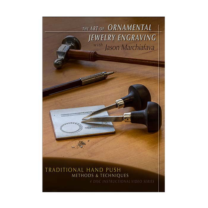 The Art of Ornamental Jewelry Engraving with Jason Marchiafava, DVD Set