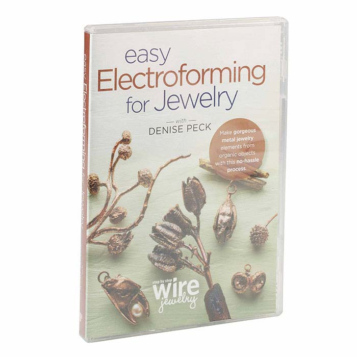 Easy Electroforming for Jewelry, DVD