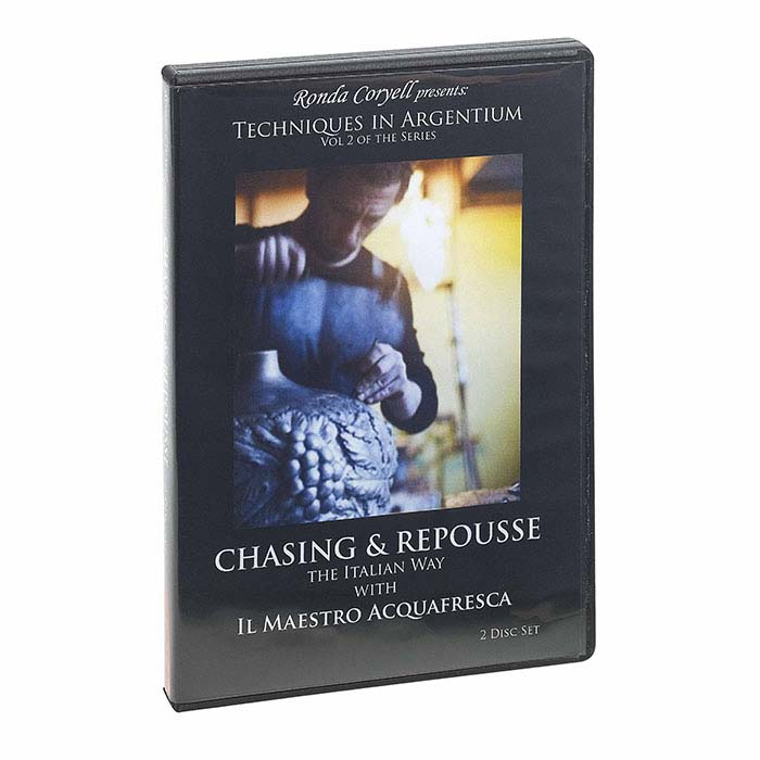 Techniques in Argentium: Chasing and Repousse, Volume 2, DVD