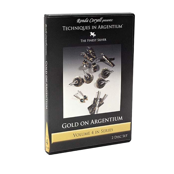Techniques in Argentium: Gold on Argentium, Volume 4, DVD