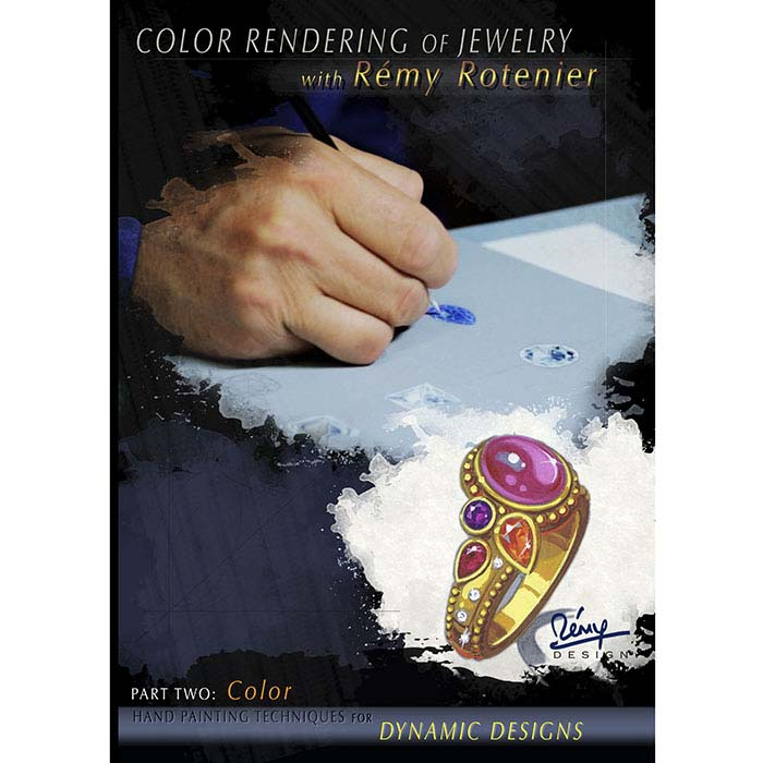 Color Rendering of Jewelry, DVD