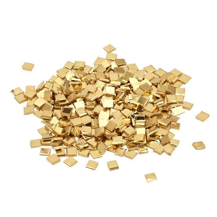 14K Plumb Yellow Gold Chip Solder, Hard