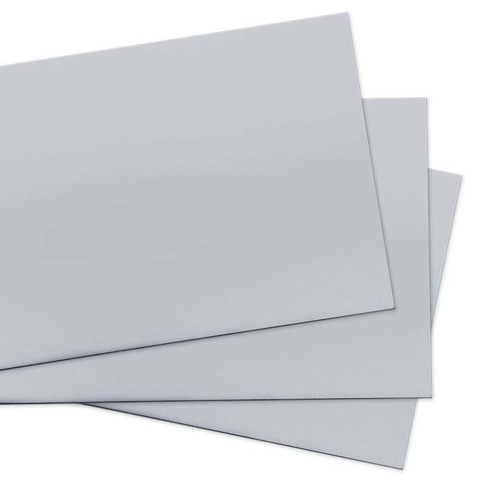 14K Nickel-Based White Gold Sheet, 30-Ga., Dead-Soft