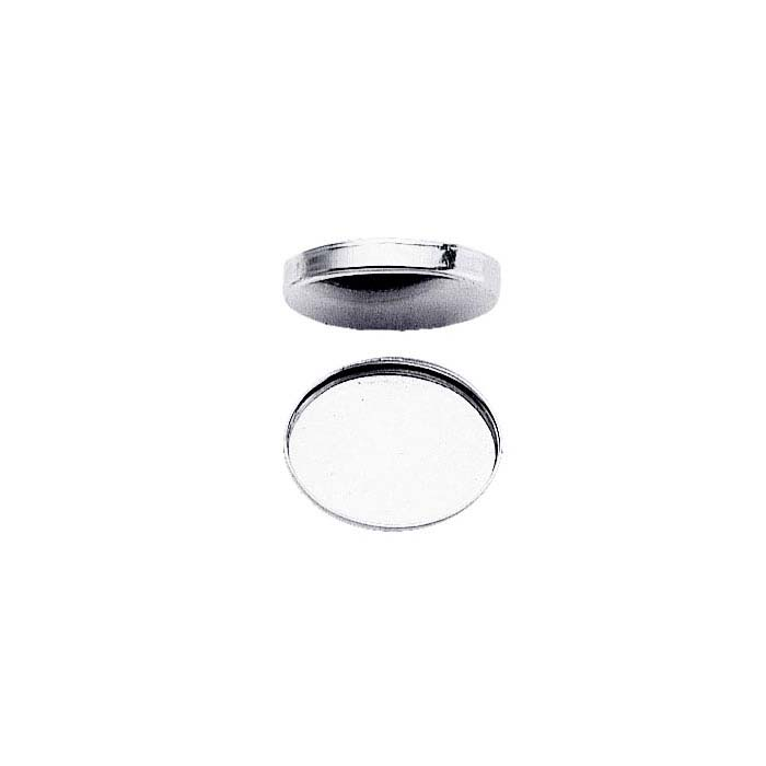 Sterling Silver Oval Bezel Cup Settings