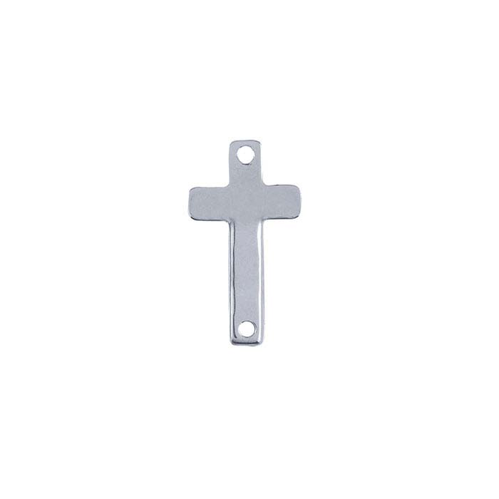 Sterling Silver Cross Link Component