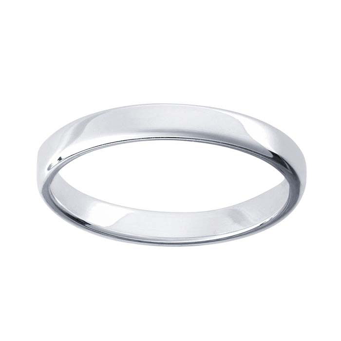 ArgentiumR Silver 31mm Wedding Band