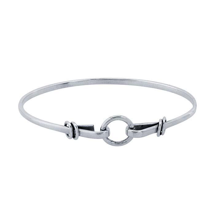 Sterling Silver Wrap-Style Bracelet