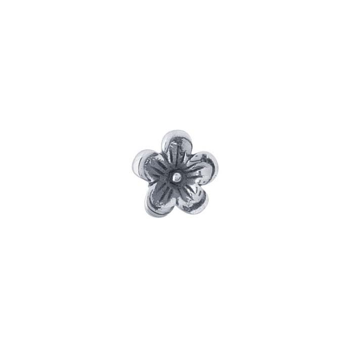 Sterling Silver Cherry Blossom Component for Floating Glass Lockets