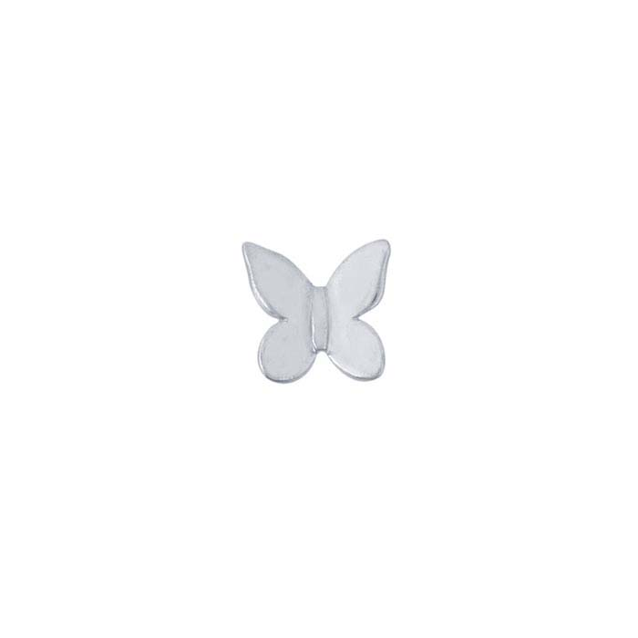 Sterling Silver Butterfly Component for Floating Glass Lockets