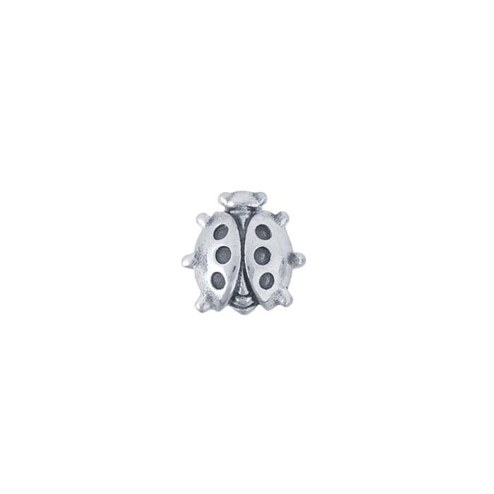 Sterling Silver Ladybug Component for Floating Glass Lockets