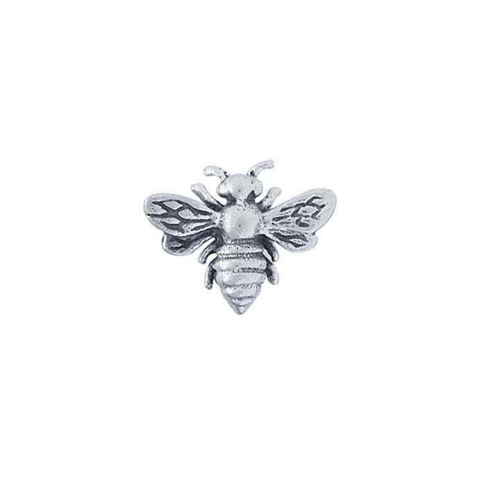 Sterling Silver Honey Bee Component for Floating Glass Lockets