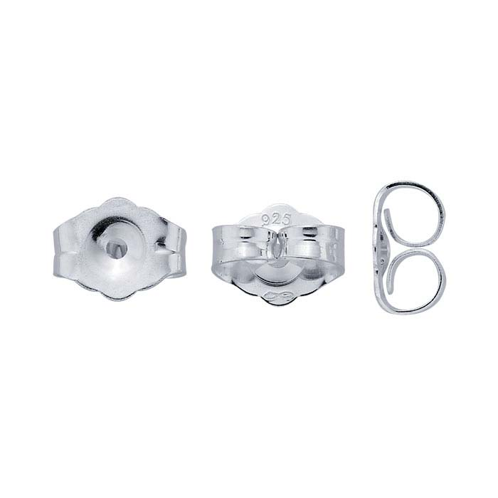 Sterling Silver Friction Ear Nut