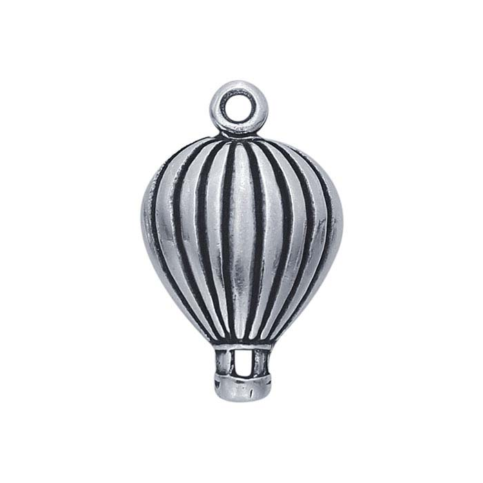 Sterling Silver Hot Air Balloon Charm