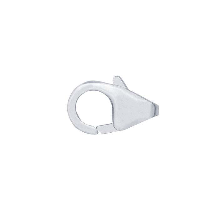 Argentium® Silver Teardrop Lobster Clasp