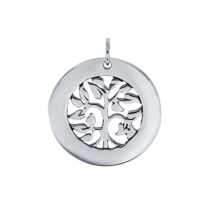 "Sterling ""Tree of Life"" Pendant"