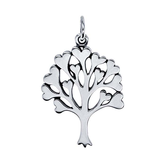 "Sterling Silver ""Tree of Life"" Pendant"