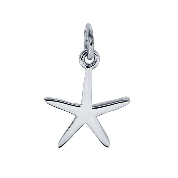 Sterling Silver Starfish Charm