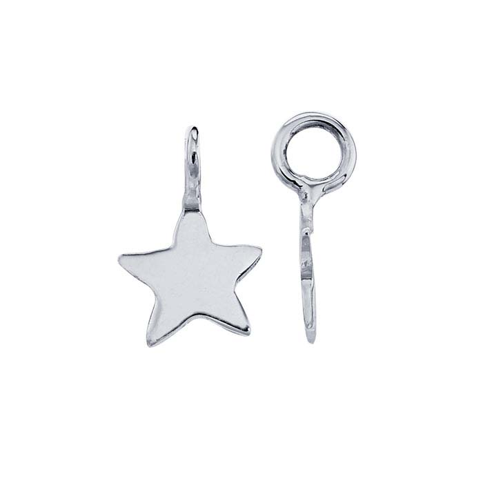 Sterling Silver Tiny Star Component