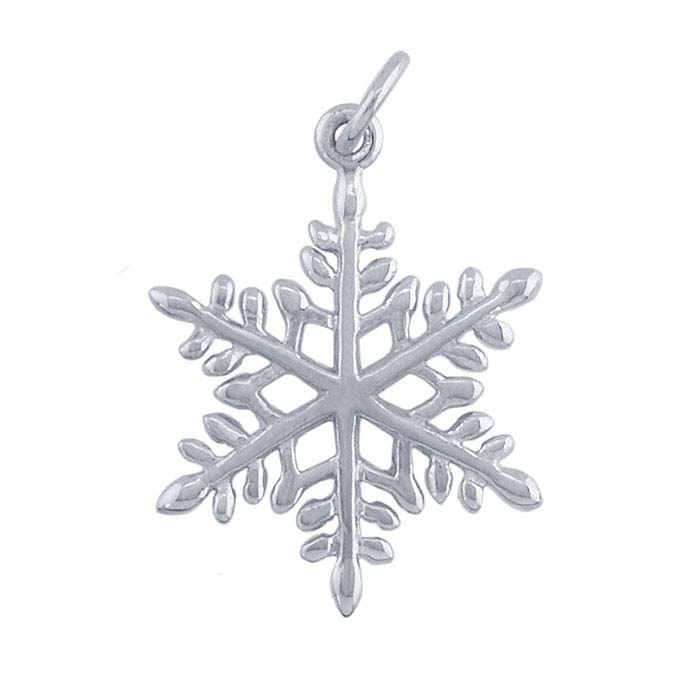 Sterling Silver Snowflake Pendant