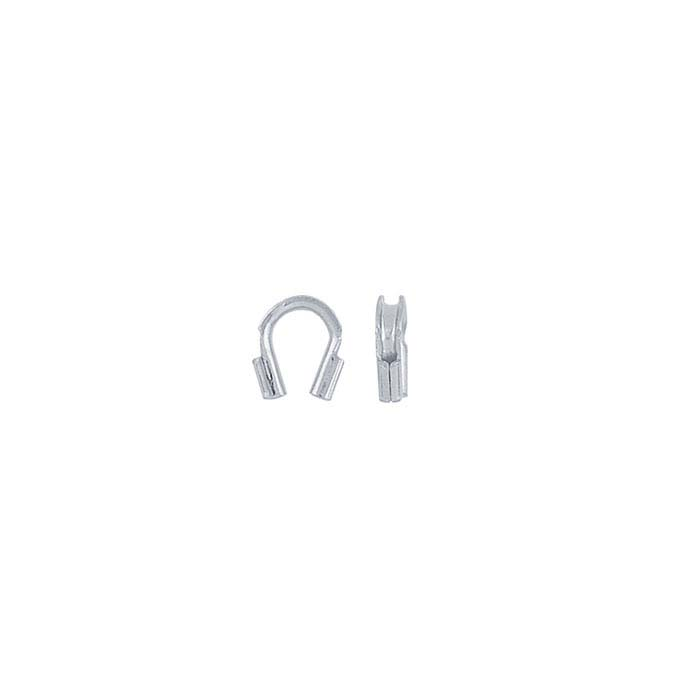 Brass Silver-Plated Wire Guard Cord Protector