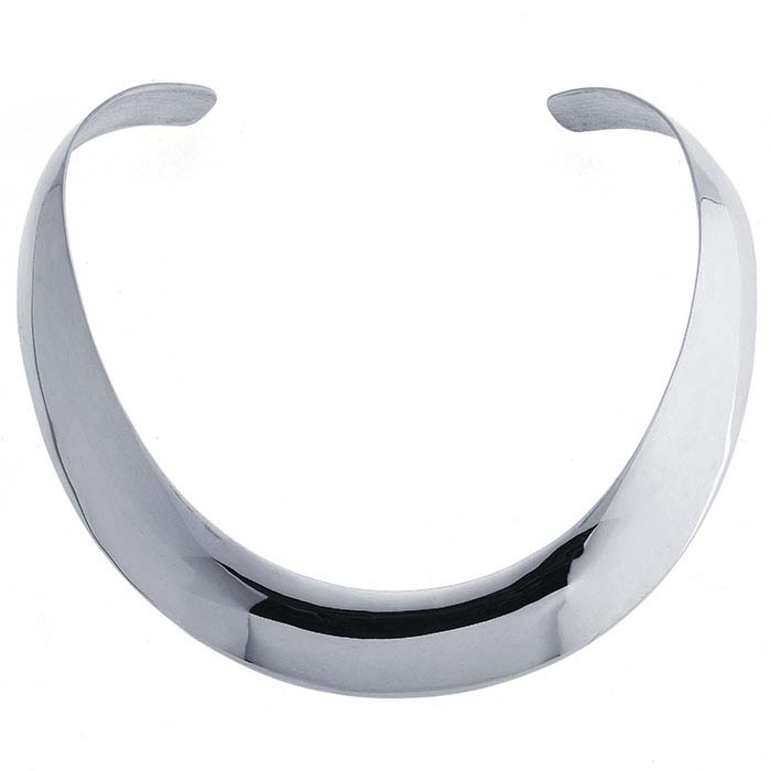 Sterling Silver Neck Ring Necklace