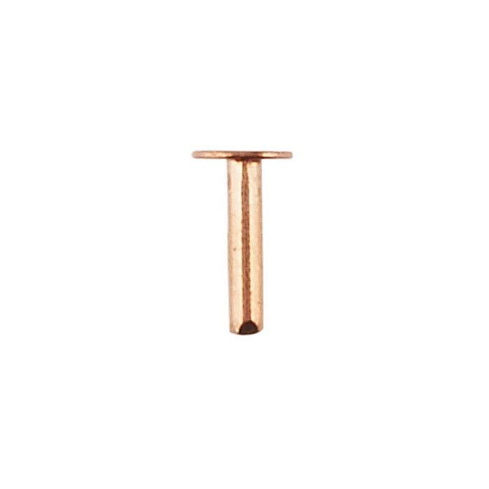 """Copper 1/4"""" Rivet"""