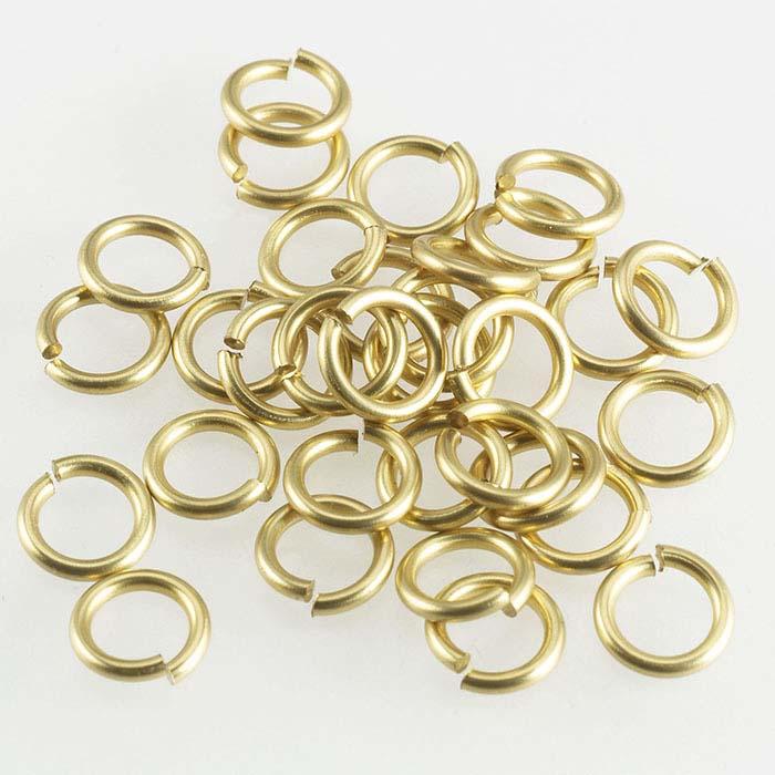 Brass Round Jump Rings