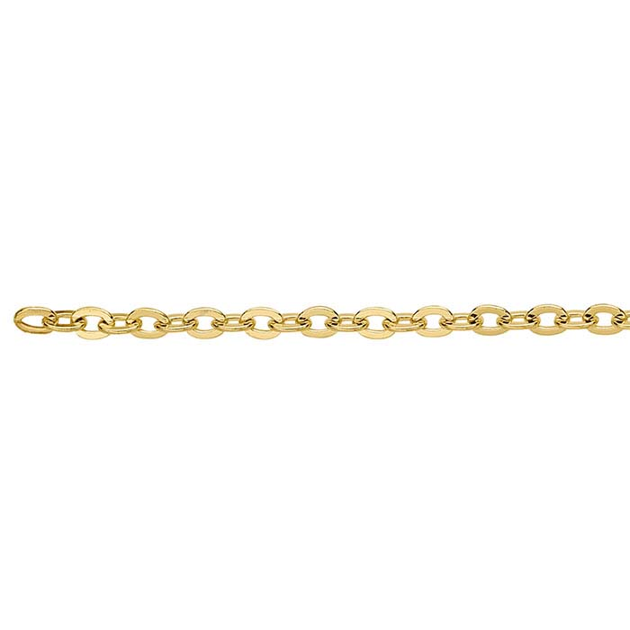 .5mm Flat Cable Chain