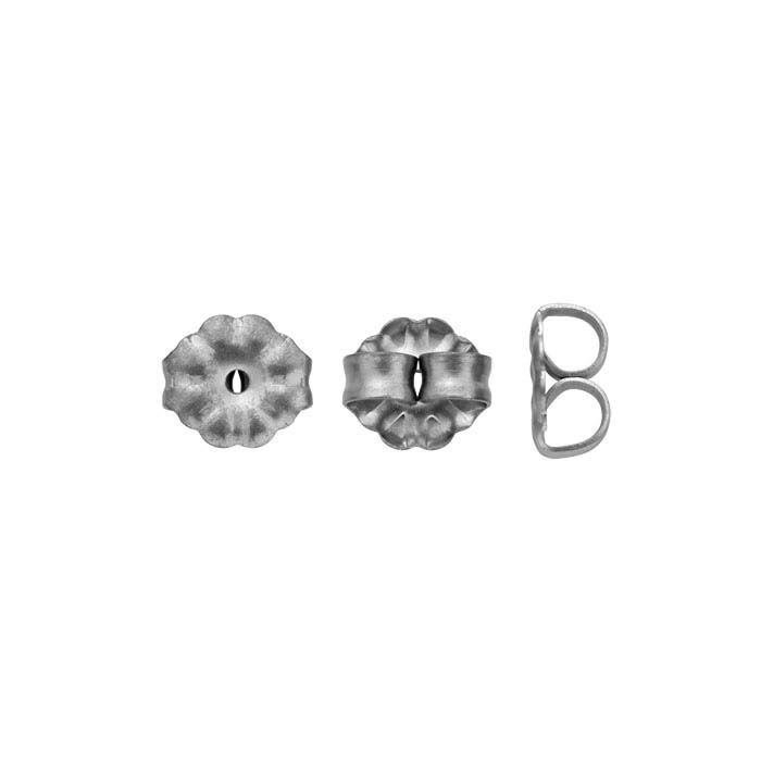 Titanium 5mm Patterned Ear Nut