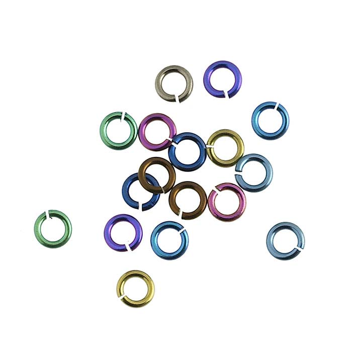 Niobium 2.5mm Round Jump Ring Assortment